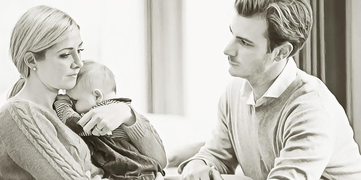 Муж ревнует к ребёнку. Как быть?